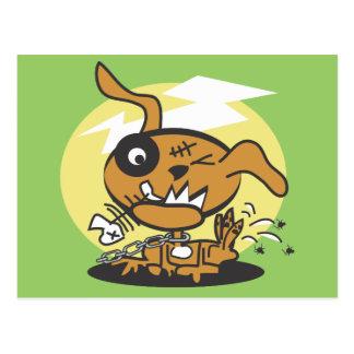 Monster Dog Postcard