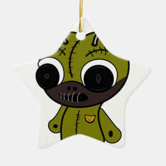 Monster doll ceramic star decoration