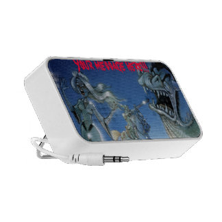 Monster Doodle Laptop Speaker