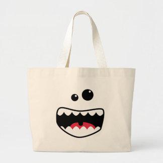 Monster face bag
