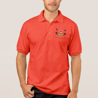 Monster Face Polo T-shirts