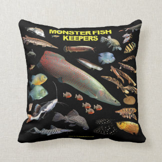 Monster Fish Keepers Cushion