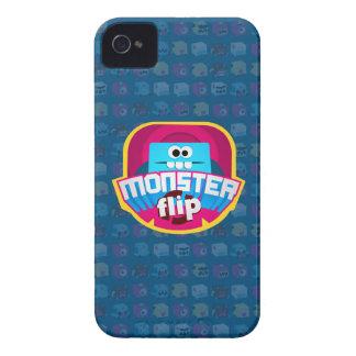 Monster Flip Logo - Mate Case iPhone 4 Cases