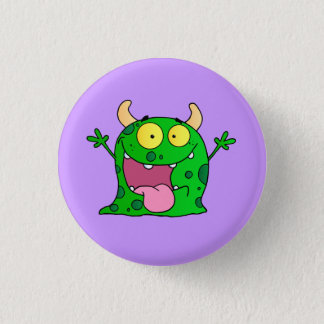 Monster Funny Comic Drawing Cartoon Cute Happy 3 Cm Round Badge