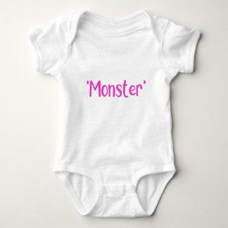 """""""Monster"""" Girl Baby Bodysuit"""