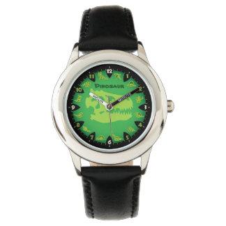 Monster Green Dinosaur Watch
