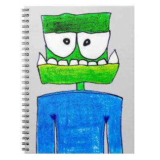 """Monster """"Groen"""" Notebooks"""