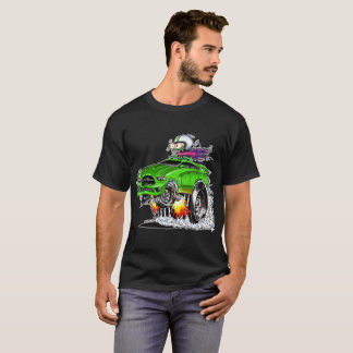 Monster Hot Racer (green) T-Shirt