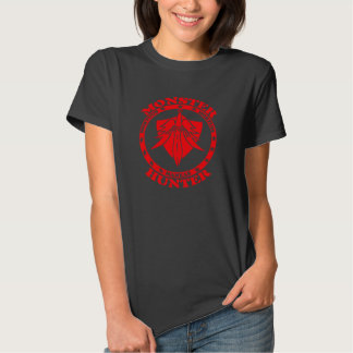 Monster Hunter Logo (red/front) T-shirts