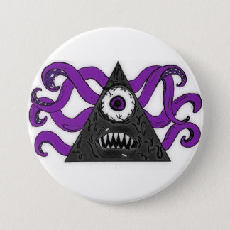 Monster II 7.5 Cm Round Badge