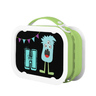 Monster Initial Lunch Box