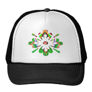 MONSTER Jewels Flower YinYang Leaf Poker Cap