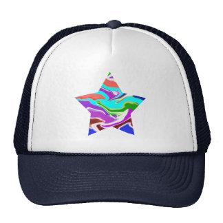 MONSTER Jewels Flower YinYang Leaf Poker Trucker Hat