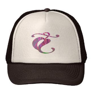 MONSTER Jewels Flower YinYang Leaf Poker Mesh Hats