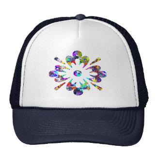 MONSTER Jewels Flower YinYang Leaf Poker Hats