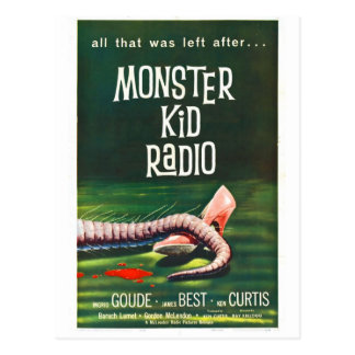 Monster Kid Radio Meets The Killer Shrews Postcard