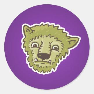 Monster Love Round Sticker