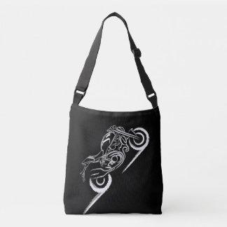 Monster Lover -Black Crossbody Bag