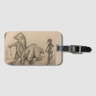 Monster Luggage tag