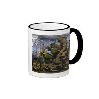 Monster Machine Ringer Mug