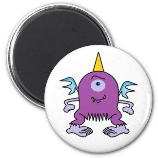 Monster Mag 6 Cm Round Magnet