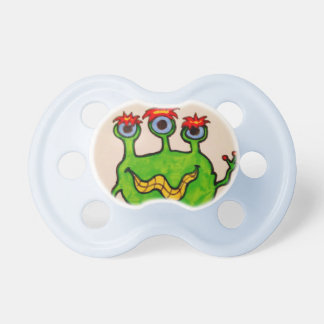 Monster Mania Baby Pacifiers