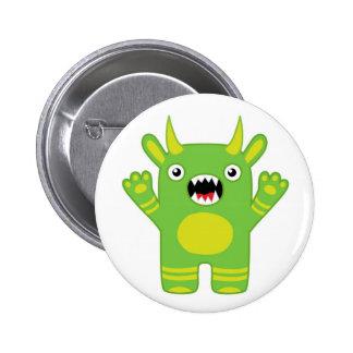 Monster Mania: Meet Rocky! Pinback Buttons