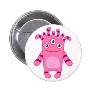 Monster Mania: Meet Sadie! Pinback Buttons