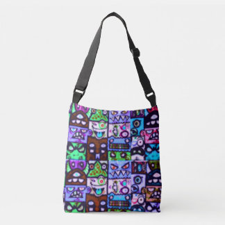 Monster Mash #23 - All-Over-Print Cross Body Bag