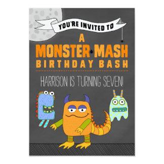 Monster Mash BIRTHDAY Bash Invitations