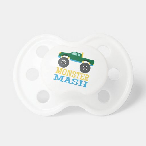 Monster Mash Pacifiers