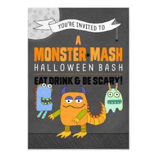 Monster Mash Halloween Bash Invitations