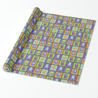 Monster Mash Wrapping Paper