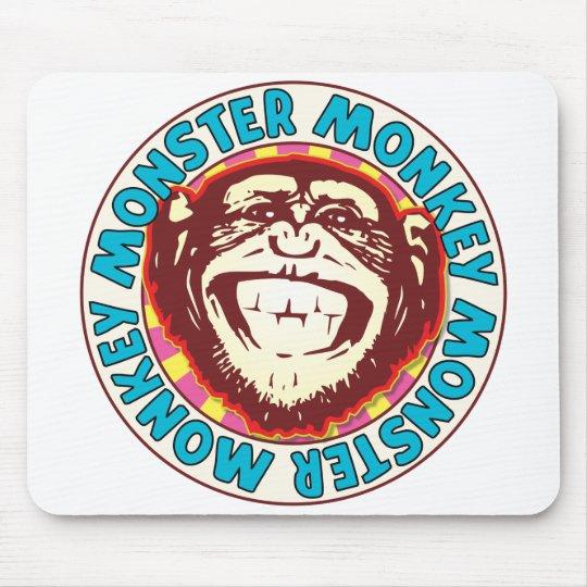 Monster Monkey Mouse Mat