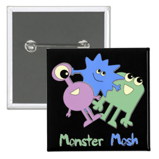 Monster Mosh Buttons