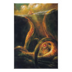 Monster Octopus Poster