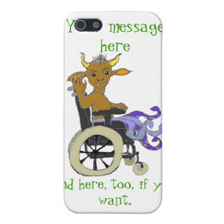 Monster on wheels -- your message iPhone 5 case