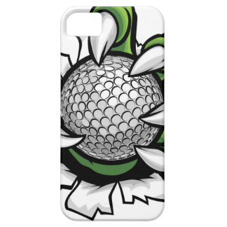 Monster or animal claw holding Golf Ball Barely There iPhone 5 Case