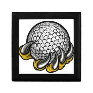 Monster or animal claw holding Golf Ball Gift Box
