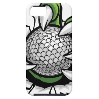 Monster or animal claw holding Golf Ball Tough iPhone 5 Case