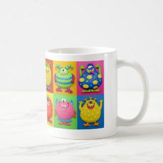 Monster Party Basic White Mug