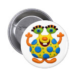 Monster Party Pin