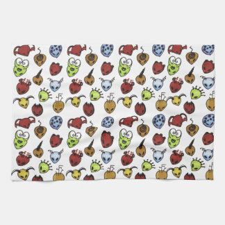 Monster Pattern kitchen towel