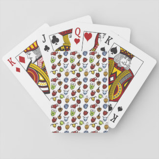 Monster Pattern Playing Cards