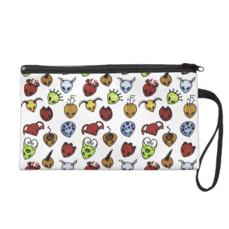 Monster Pattern Wristlet