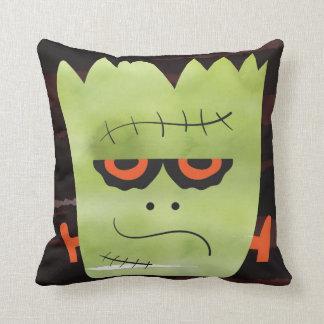 monster pillow, throw pillow, home decor cushion
