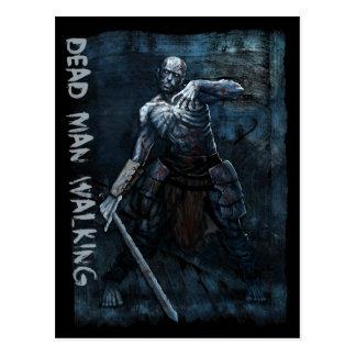 Monster Postcard - Dead Man Walking