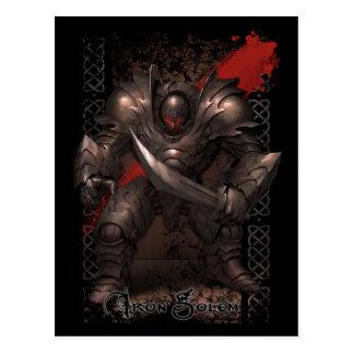 Monster Postcard - Iron Golem