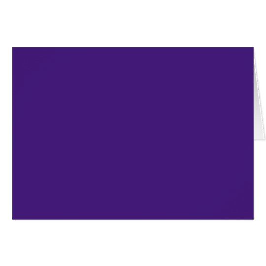 Monster Purple Greeting Card