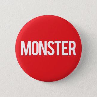 Monster Records 6 Cm Round Badge